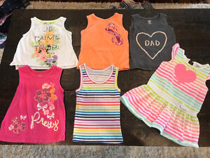 Variety of Girl Clothes (fits size 2 years - 3 years)