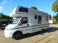 Auto Trail Cheyenne 584 Fiat 2.5 diesel 4 Berth Motorhome Camper 38,574 miles