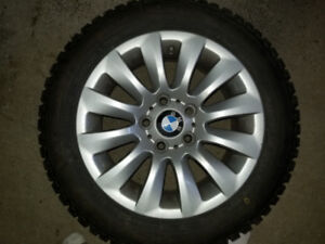 Mag BMW et pneus d'hivers 205/55/R16 91T