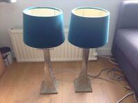 Pair of Rochamp lamps