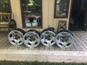F150 Chrome rims 17""