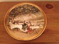 Argyl Fine Bone China Decorative Gilt Plate