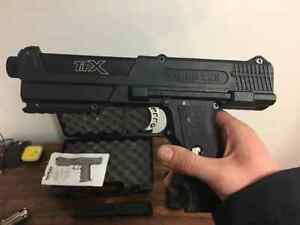 FOR SALE TIPPMAN TPX PISTOL W/2 STANDARD & 2 EXTENDED MAGS London Ontario image 1
