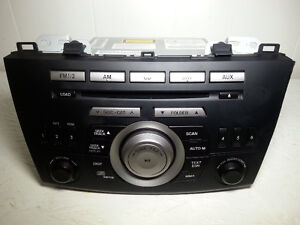 2010-13 MAZDA 3 MAZDA3 AM/FM CD Radio MP3 OEM Head Unit