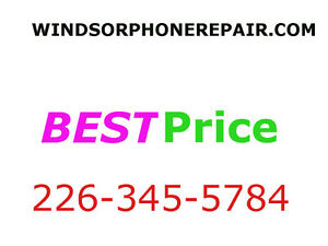 $59 iPhone 5 5c New LCD screen repair service in windsor