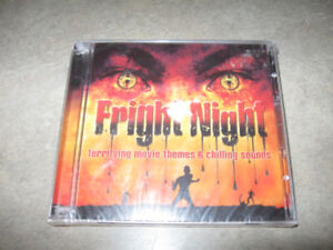 Fright Night 2 cd set-new and sealed-Movie themes & sounds + dvd