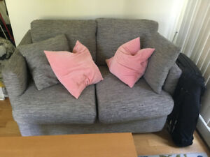 Comfy couch/love seat