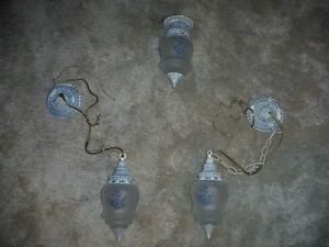 Matching set of 3 lights.