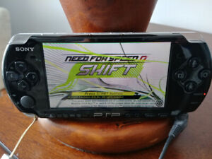 Sony PSP and three games