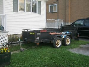 Trailer 4 X 10  double roues