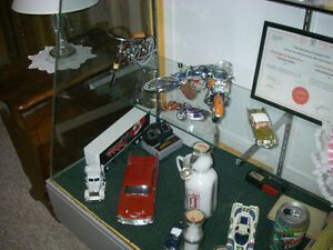 Collectible Toy Tractors,cars,bikes etc.with display cases Sarnia Sarnia Area image 3