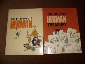 Treasury Of Herman - Vol 1 & 2 - By Jim Unger