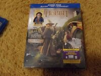 The Hobbit: An Unexpected Journey Blu Ray with Lego Figure