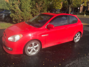 2007 Hyundai Accent SR (rare only made in 2007)  Rust free