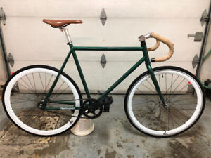 Vélo Fixed Gear Bicycle -  Retrospec Vert 57cm