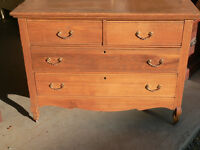 commode antique  en chene # 523