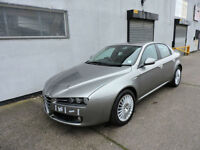 08 Alfa Romeo 159 1.9JTDM 16v Lusso Damaged Salvage Repairable