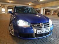 2006 Blue Volkswagen Golf R32 DSG - 3.2 V6 4Motion DSG - Bucket Seats , FSH not