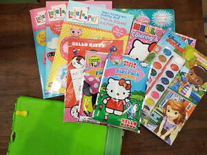 Coloring and Activity Books for kids