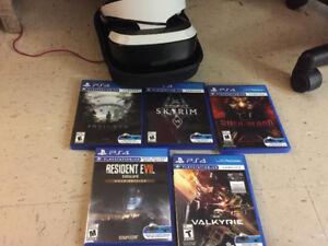 PSVR full kit avec jeux