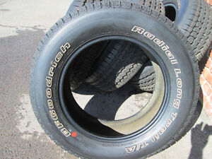 265/60R18 BF GOODRICH RADIAL LONG TRAIL T/A LIKE NEW