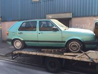 Golf mk2 1.8 5 door full electric pack breaking all parts available can post