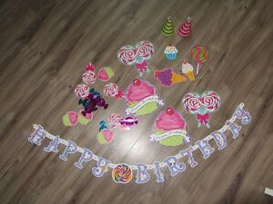 Decorations for a candyland birthday party West Island Greater Montréal image 3