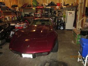 Trade 1976 Corvette for Harley