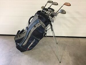 Golf Clubs And Bag
