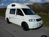 2007 VOLKSWAGON TRANSPORTER T28 84 TDI SWB , HIGH TOP, CAMPER, LOVELY CONDITION
