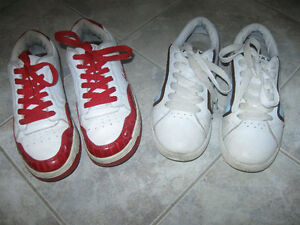 2 PAIR RUNNING SHOES [SIZE 7.5]...BOTH EXCELLENT CONDITION