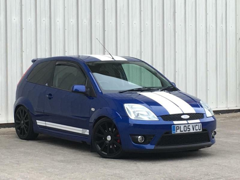 Ford Fiesta 2 0 2005my St In Pefromance Blue St Stripes