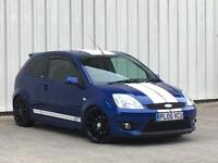 Ford Fiesta 2.0 2005MY ST In Pefromance blue + ST Stripes Finance Available