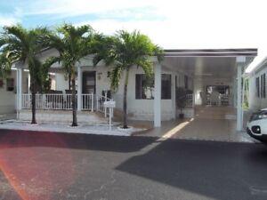 Maison A Vendre Boul  Hallandale ,floride ,Parc Lone Pine west
