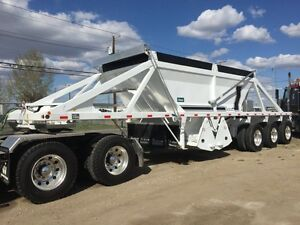 Castleton Cross Clam Gravel Trailer