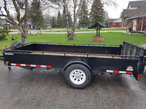 For Rent: 6x12 Open Utility Trailer w/ Ramp