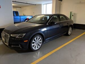 2018 Audi A4 Quattro Komfort - Lease take over