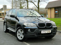 2007 57 BMW X5 3.0 30d SE 5dr WITH FSH+LEATHER+SATNAV+PARKING SENSORS++