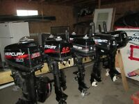 Mercury 5 HP And 6 HP Outboard Motors For Sale