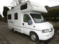 Compass Suntor Avantgarde 200 Compact 4 Berth Rear Lounge Motorhome For Sale