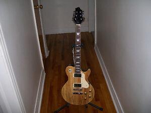 Greg Bennett Avion 6 Ltd. Ed. Spalted Maple Top Electric Guitar! West Island Greater Montréal image 1
