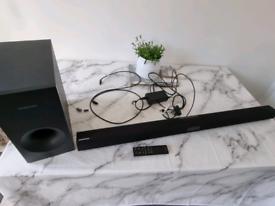 Samsung HW-J355 120W Sound Bar and Subwoofer