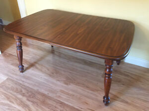 Solid Wood Dining Table - seats 8