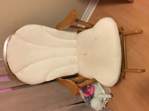 Gently used glider (rocking chair)