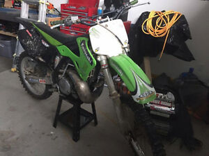 2001 KX 250 Kawasaki dirtbike for sale