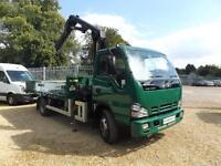 Isuzu Truck NQR Dropside with Atlas 48.2 Crane 7.5 Ton