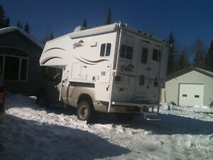 "Citation Supreme 8'8"" camper with winter package"