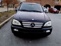 2002 Mercedes ML320, Fully Loaded, Need Gone ASAP!