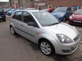 FORD FIESTA 1.2 style climate 2008 Petrol Manual in Silver