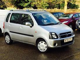 2005 Vauxhall Agila 1.2 Design Silver only 29,412 Genuine Low Mileage Car